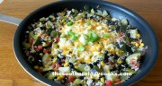 ZUCCHINI AND BLACK BEAN SKILLET
