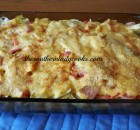 SCALLOPED CABBAGE AND HAM CASSEROLE