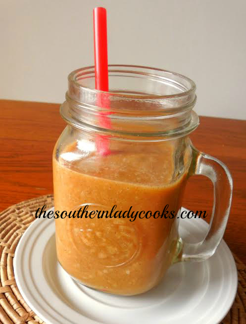 BANANA PUMPKIN SMOOTHIE – LIGHT RECIPE