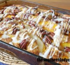 PEACH BRUNCH CAKE OR COFFEE CAKE