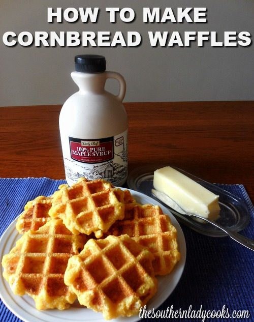 CORNBREAD WAFFLES – EASY RECIPE