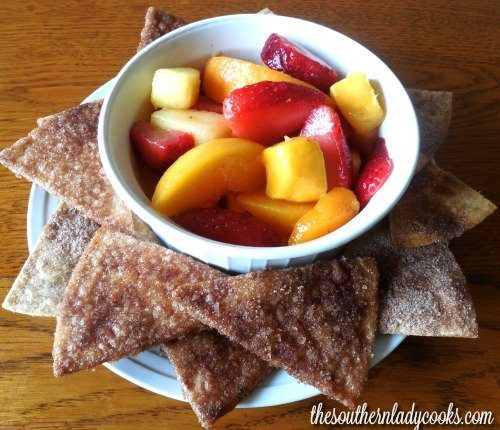 CINNAMON TORTILLA WEDGES