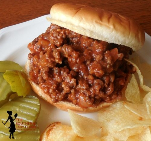 SLOPPY JOES - Crock Pot or Stove Top